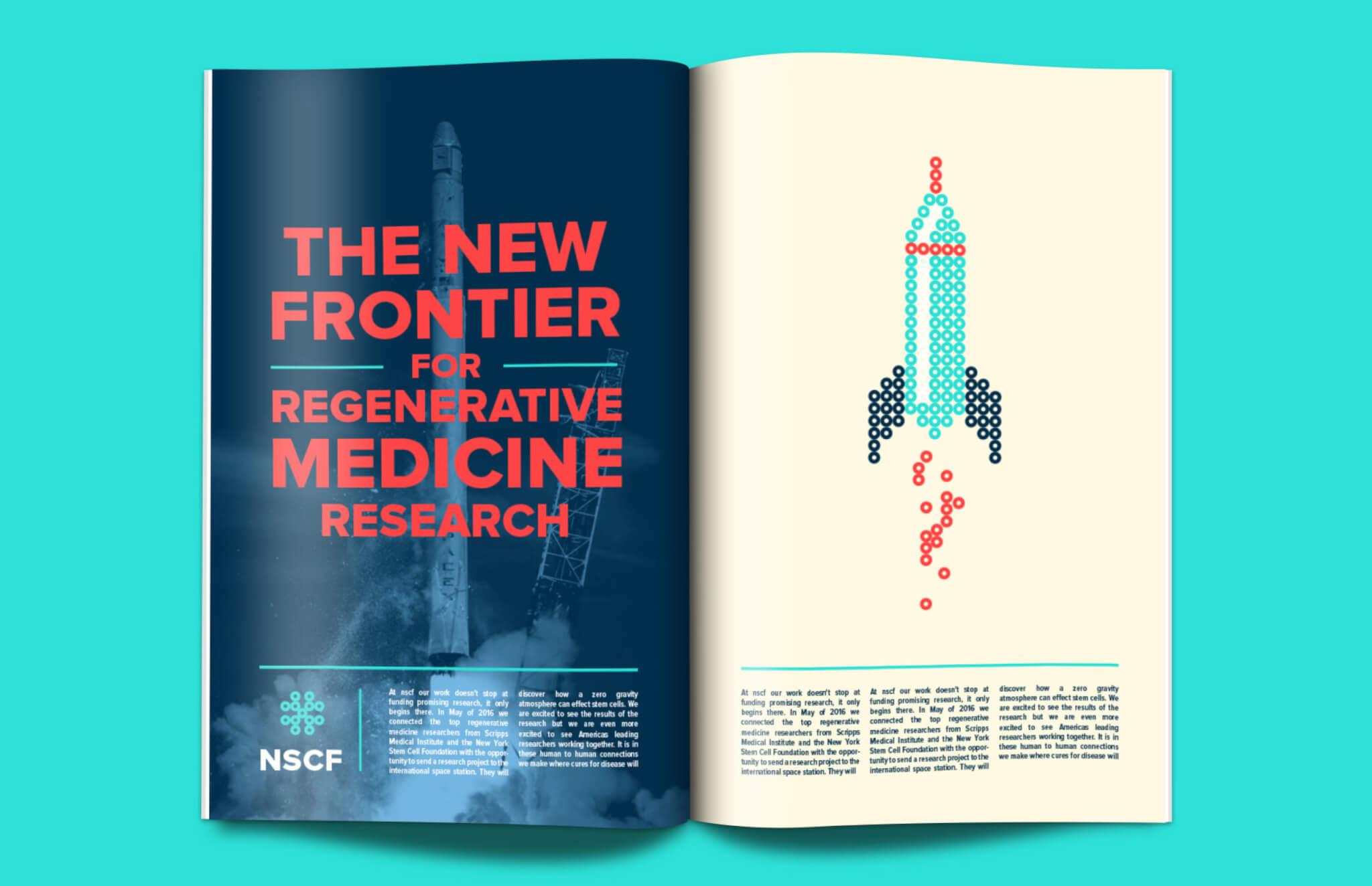 National Stem Cell Foundation Print branding